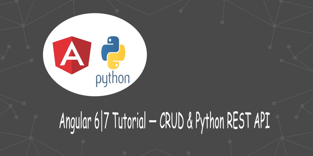 Angular Tutorial - Python Backend