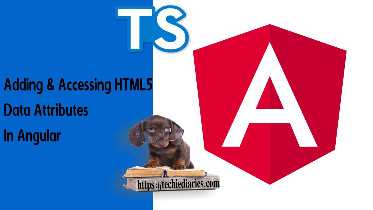 HTML5 Data Attributes in Angular