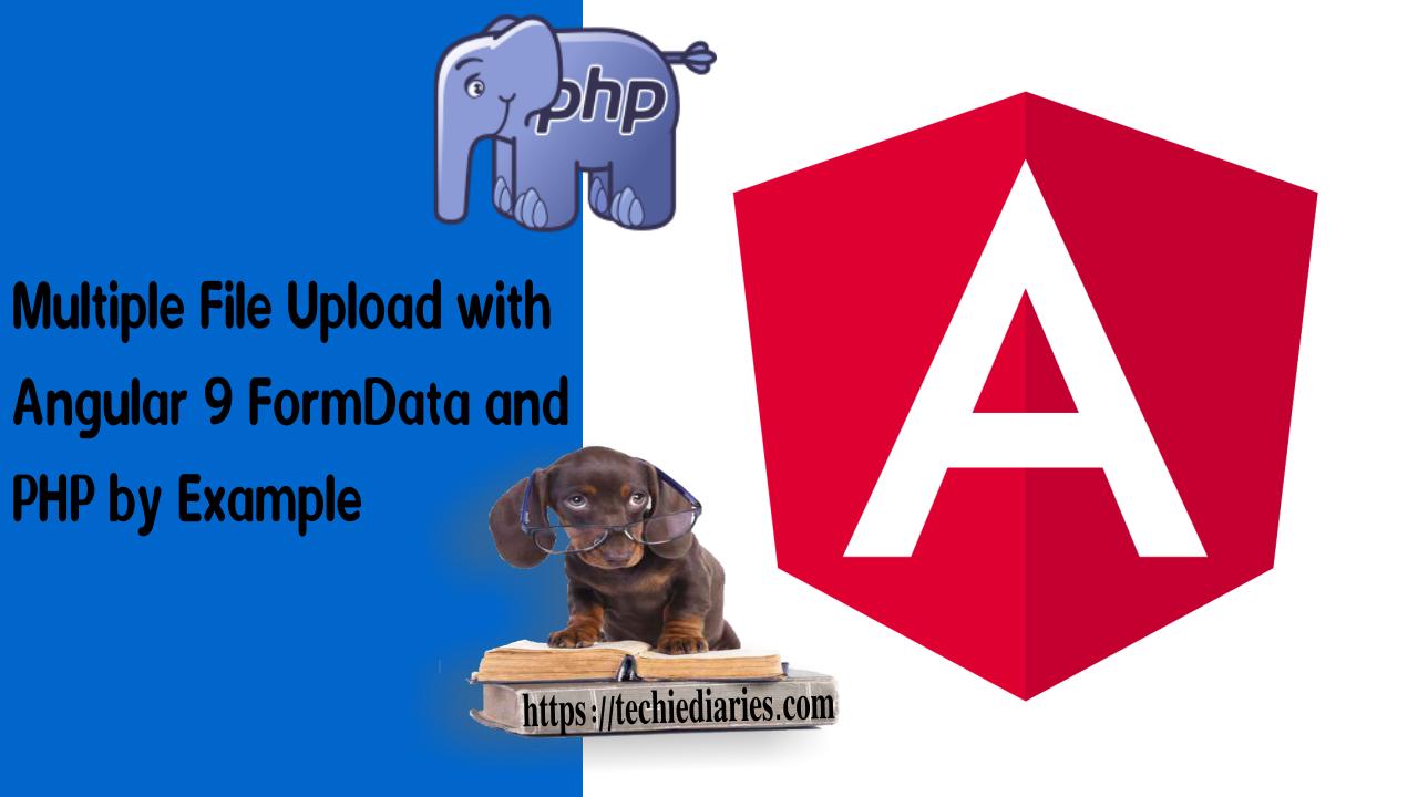 Angular PHP Upload FormData