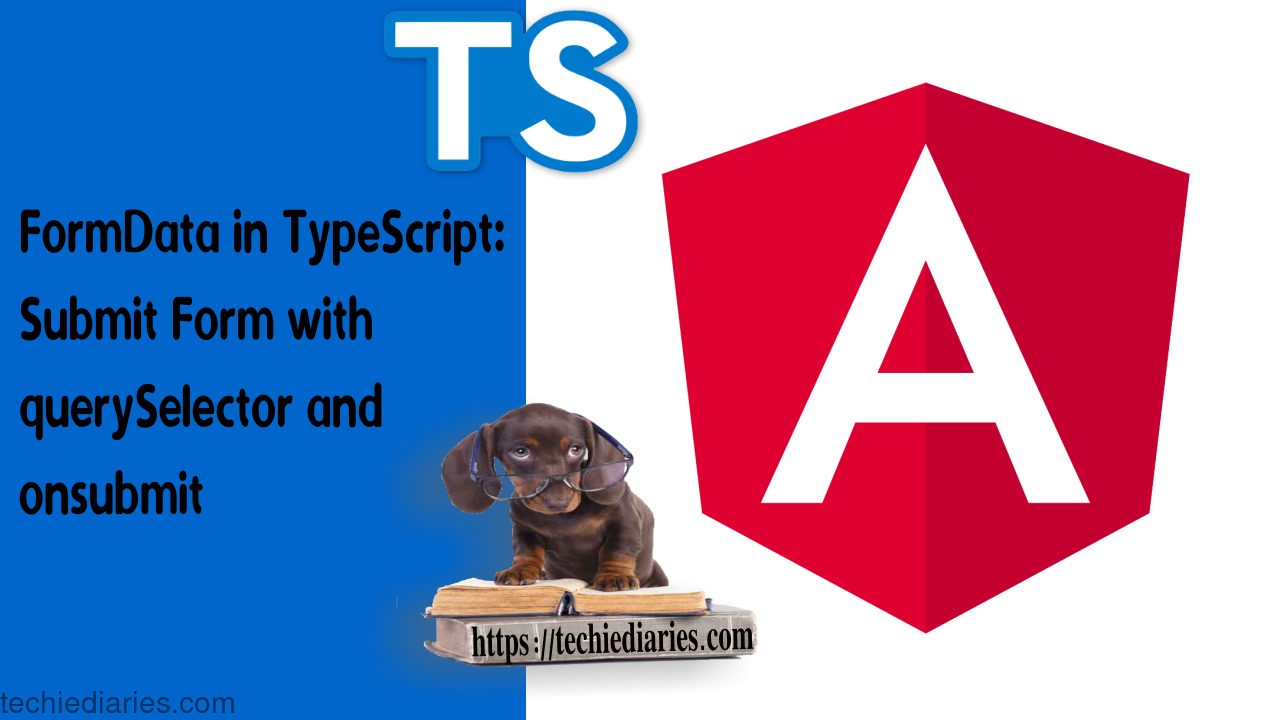 FormData in TypeScript
